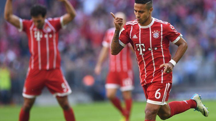 Alcantara marque pour le Bayern Munich (CHRISTOF STACHE / AFP)