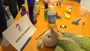 Éducation : prévenir les accidents domestiques dès l'école (CAPTURE D'ÉCRAN FRANCE 3)