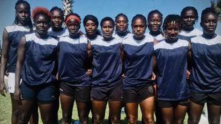 L'équipe nationale de rugby sénégalais féminine. (France 2)