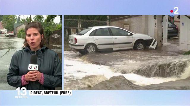Inondations dans l'Eure : la situation pourrait s'aggraver