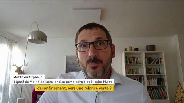 """Matthieu Orphelin : """"Il faut réinventer un modèle de croissance beaucoup plus sobre"""""""