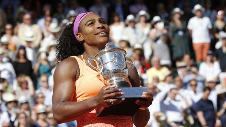 (Roland-Garros : Serena Williams a remporté la finale de Roland Garros 2015 © Reuters-Jean-Paul Pelissier)