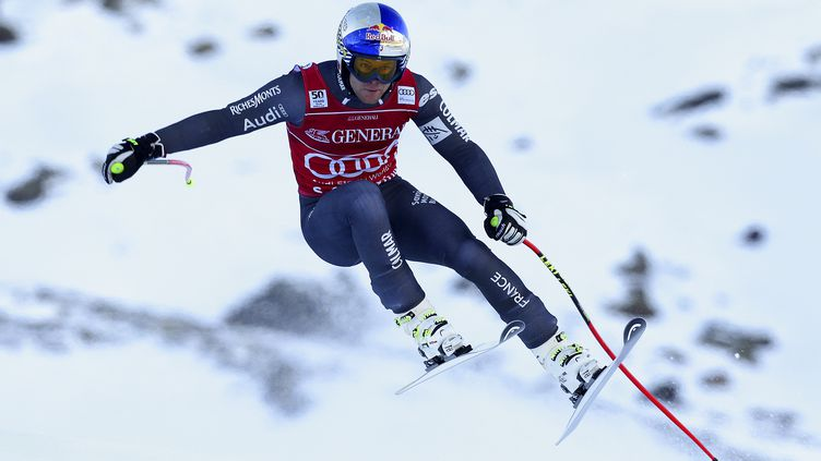 Alexis Pinturault a dominé le premier combiné alpin de la saison (ANDREA SOLERO / AFP)
