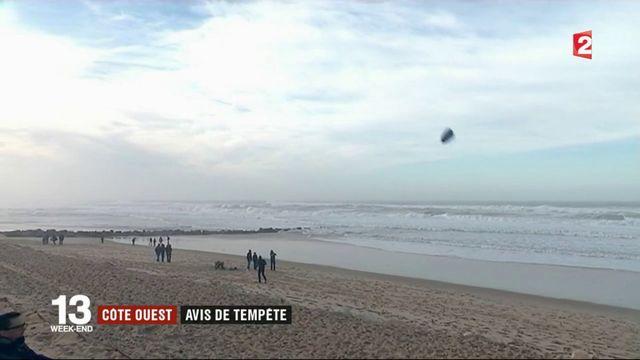 Tempête Carmen : des vents forts sur le littoral atlantique