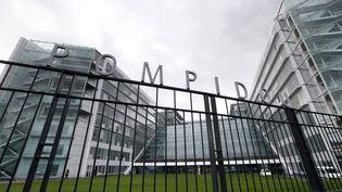 Vue de la façade de l'hôpital européenGeorges-Pompidou, à Paris, le 7 novembre 2014. (THOMAS SAMSON / AFP)