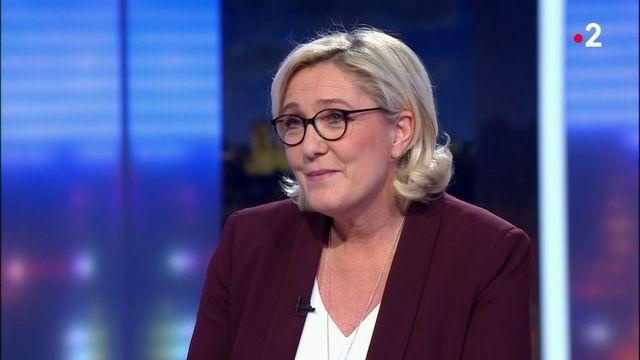 """Marine Le Pen : """"Il faut dissoudre l'Assemblée nationale. Nous nous préparons à des élections anticipées"""""""