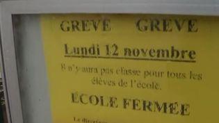 Grève des enseignants : quels plans B pour les parents d'élèves ? (France 2)