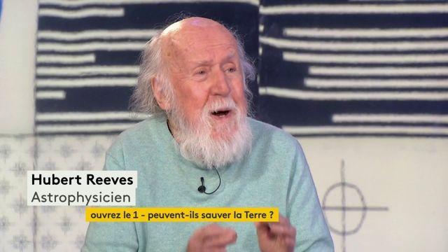 """VIDEO. Le """"putain de facteur humain"""" : l'explication d'Hubert Reeves sur l'inaction des hommes face à l'état de la Terre"""