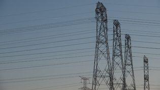 Au plus fort de la panne, 125 000 foyers étaient privés d'électricité, le 22 mars 2021. (SEBASTIEN BOZON / AFP)