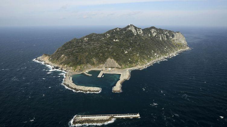 L'îled'Okinoshima(Japon), le 16 février 2017. (MASANOBU NAKATSUKASA / YOMIURI / AFP)