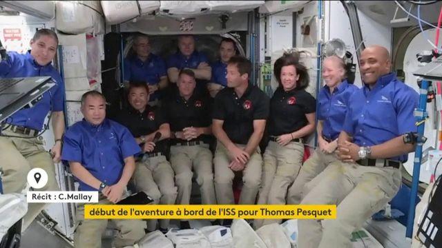 Mission Alpha : début de l'aventure à bord de l'ISS pour Thomas Pesquet