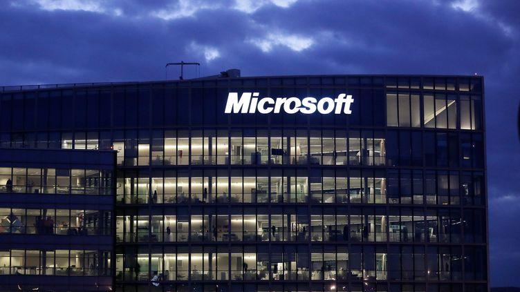 Le siège social en France de Microsoft d'Issy-les-Moulineaux (Hauts-de-Seine). Photo d'illustration. (VINCENT ISORE / MAXPPP)