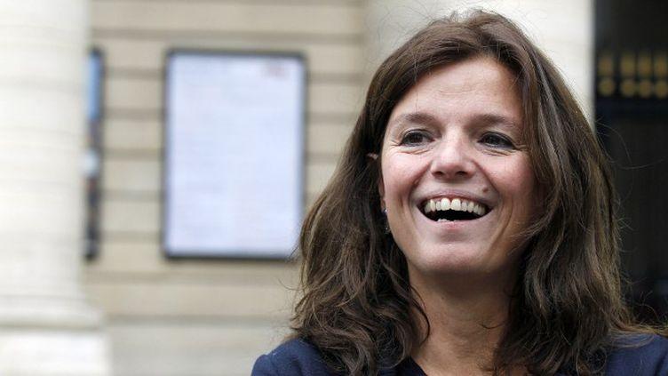 """Maylis de Kerangal, écrivaine, auteure de """"Réparer les vivants"""" (Verticales)  (FRANCOIS GUILLOT / AFP)"""