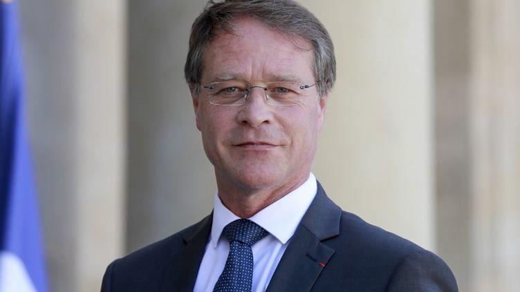 François Asselin, le 24 juin 2020, à Paris. (LUDOVIC MARIN / AFP)