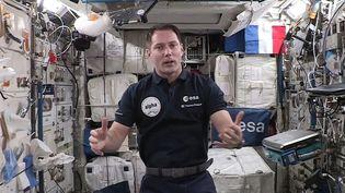 Thomas Pesquet a pris la tête du commandement de la Station spatiale internationale depuis le 4 octobre. (EUROPEAN SPACE AGENCY)