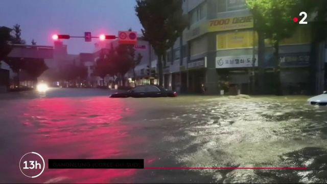 Corée du Sud : neuf personnes retrouvées mortes après le passage du typhon Mitag