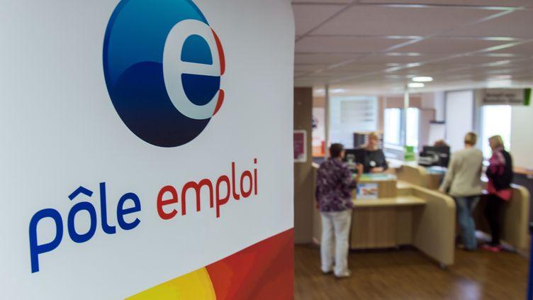 Dans une agence Pôle emploi, à Armentières (Nord), le 27 août 2014. (PHILIPPE HUGUEN / AFP)