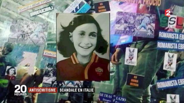 Italie : des autocollants antisémites de supporters font scandale