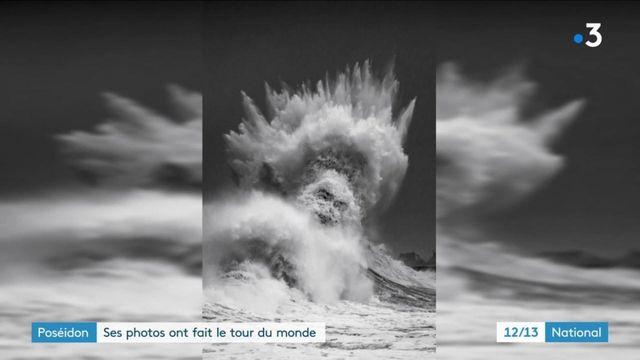Bretagne : un photographe capture Poséidon dans les vagues et connaît son heure de gloire