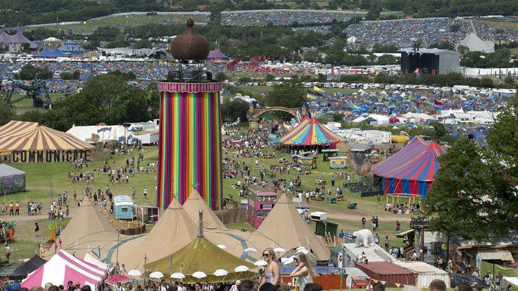 L'arrivée des aficionados au festival de Glastonbury, le 24 juin 2015  (Oli Scarff / AFP)
