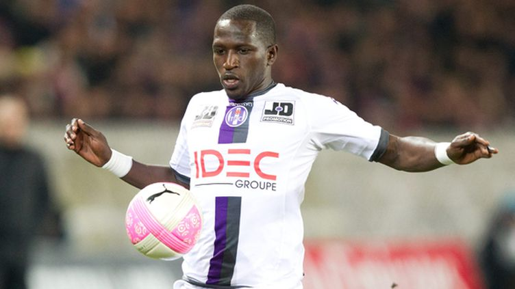 Moussa Sissoko sous le maillot toulousain (MATTHIEU DE MARTIGNAC / MAXPPP)