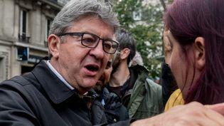 Le leader de La France insoumise, Jean-Luc Mélenchon, le 24 septembre 2019 à Paris. (ESTELLE RUIZ / NURPHOTO / AFP)