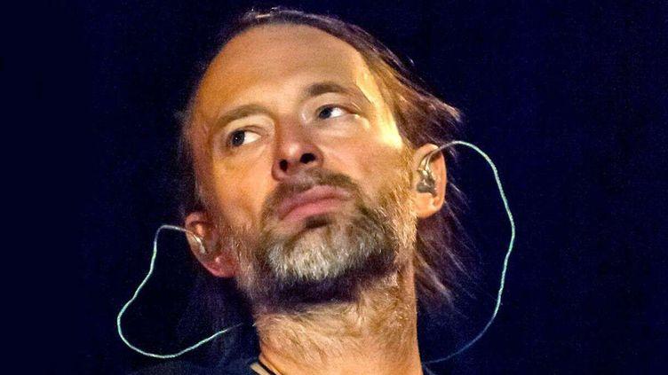 Thom Yorke, en pointe depuis des années sur l'écologie et les ravages du changement climatique.  (Ben Matthews/ REX Shutterstock / SIPA)