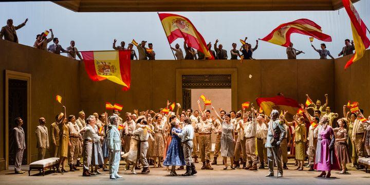 Le finale.  (Agathe Poupeney/Opéra national de Paris)