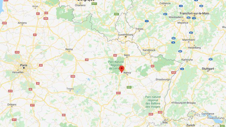 Villey-Saint-Etienne en Meurthe-et-Moselle ((GOOGLE MAPS))
