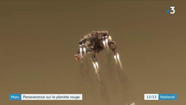 Planète Mars : retour sur l'atterrissage sans encombre du robot Perseverance