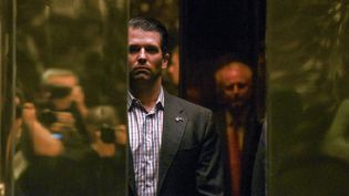 Donald Trump Jr., fils du président américain Donald Trump, à la Trump Tower de New York, le 18 janvier 2017. (STEPHANIE KEITH / REUTERS)