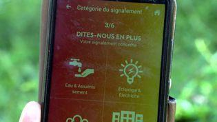 L'application TellMyCity. (France 3 Caen)