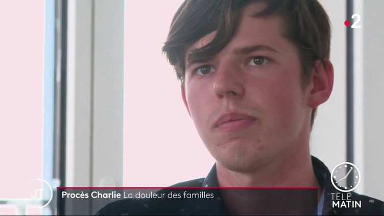 Raphaël Maris, fils de Bernard Maris. (France 2)