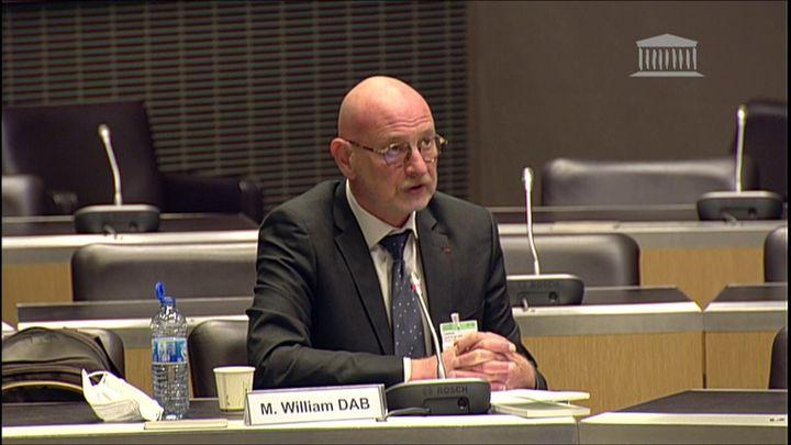William Dab, ancien directeur général de la santé, à l'Assemblée nationale, le 23 juin 2020. (ASSEMBLEE NATIONALE)