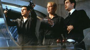 """Tom Cruise,Neal McDonough et Colin Farrell prédisent les délits dans le film """"Minority Report"""", de Steven Spielberg, sorti en 2002. (SCREEN PROD / AFP)"""