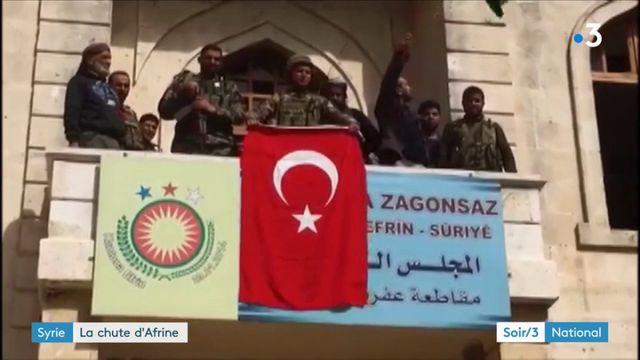 Syrie ; la Turquie reprend Afrine aux Kurdes