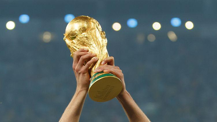 Le trophée de la Coupe du monde de football. (  BEN QUEENBOROUGH / BACKPAGE IMAGES LTD)