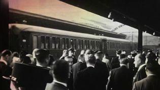 Le 5 juin 1883 démarrait l'Orient-Express, un train devenu au fur et à mesure mythique. Aujourd'hui, c'est un voyage de haut standing qui est proposé aux clients. (FRANCE 2)