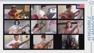 Un concert en ligne pour des résidents en Ehpad (France 3)