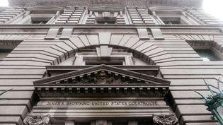 La cour d'appel de San Francisco où a été jugé, mardi 7 février, le décret anti-immigration de Donald Trump. (? NOAH BERGER / REUTERS / X03026)