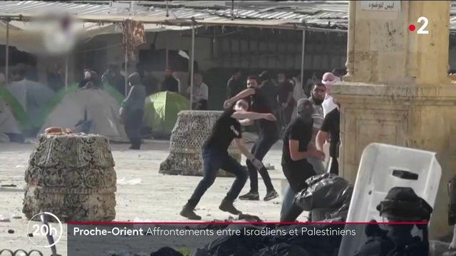 Jérusalem : des affrontements entre Israéliens et Palestiniens, au moins neuf morts