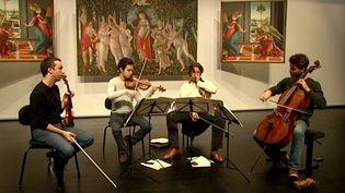 Le quatuor Ebène au festival de Wissembourg  (France3/culturebox)