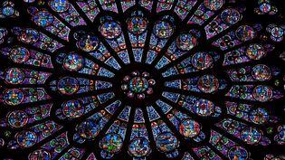 Détail rosace Notre-Dame de Paris (MANUEL COHEN / MANUEL COHEN)