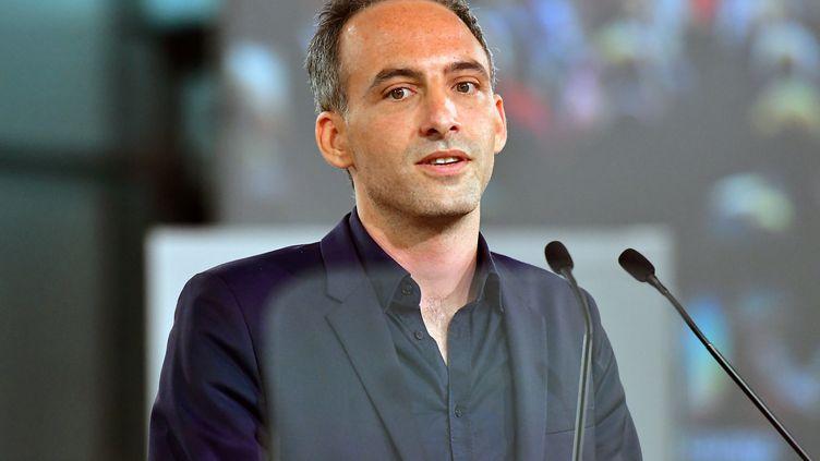 Raphaël Glucksmann, le 6 avril 2019 à Toulouse. (PASCAL PAVANI / AFP)