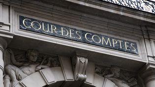 La façade du palais Cambon, qui abrite la Cour des comptes, rue Cambon, à Paris. (VINCENT ISORE / MAXPPP)