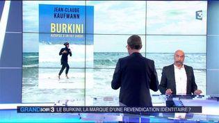Jean-Claude Kaufmann et son livre sur le burkini (France 3)