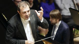 Daniel Gatti, chef de l'orchestre royal d'Amsterdam (2018)  (Michaela Rihova/AP/SIPA)