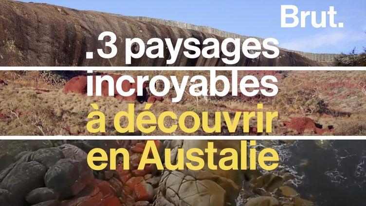 VIDEO. Trois paysages incroyables à découvrir en Australie (BRUT)