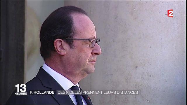 Livre sur François Hollande : les fidèles prennent leurs distances