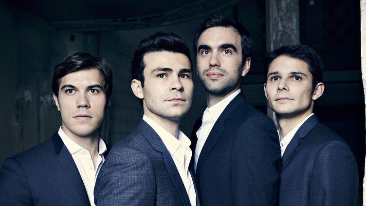 Le Quatuor Modigliani  (Sylvie Lancrenon/Mirare)